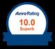 AVVO Rating badge 10.0 superb
