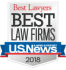 U.S. News Bet Law Firms logo